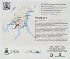 Map Of Lake Como Italy by To Dog With Love September 2015