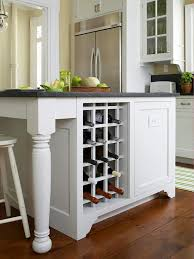 kitchen island with wine storage custom touches for small kitchens wine rack kitchen essentials
