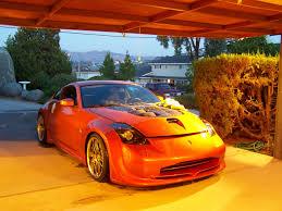 Nissan 350z Orange - zrolimit 2004 nissan 350z specs photos modification info at