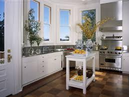 bay window kitchen ideas kitchen unique retro kitchen with high bay windows and white