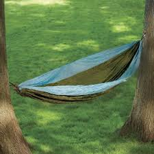 guidesman nylon double hammock assorted colors at menards