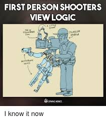 Logic Meme - first person shooters view logic a little spoon jar of steadt cam