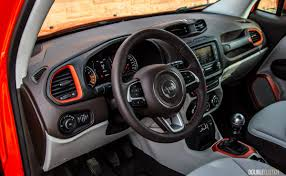 jeep renegade grey interior 2016 jeep renegade north review doubleclutch ca
