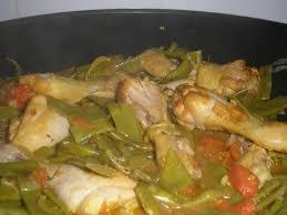 cuisiner des haricots plats recette poulet aux haricots coco plats façon tajine recette poulet