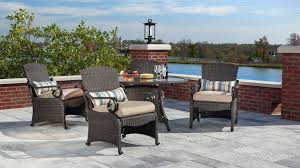 Outdoor Patio Dining Sets With Umbrella - lake como patio dining set with umbrella and base khaki tan 7