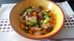 cuisine d automne la cuisine claudine salade d automne riz poulet grillé