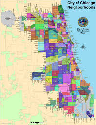 Map Of Chicago Airport by Chicago Neighborhoods Map Maplets
