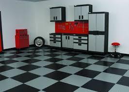 Cool Garage Floors Flooring Ideas Black And White Vinyl Garage Flooring Tiles Under