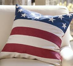 American Flag Bedding American Flag Pillow Cover Pottery Barn