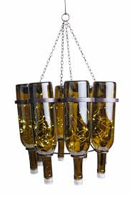 Diy Bottle Chandelier Wine Bottle Chandelier U2013creative Upcycling Ideas For Lighting Fixtures
