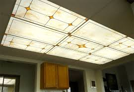 Fluorescent Ceiling Light Covers Drop Ceiling Fluorescent Light Panels Office And Bedroom