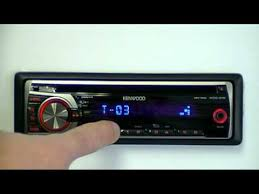 kenwood kdc 315r cd receiver with aux input youtube