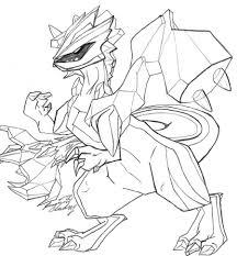 pokemon coloring pages white kyurem doodle by givemebilliejoe on deviantart