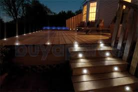 Micromark Outdoor Lighting by Micromark Twilight 66 32mm Blue Led Decking Plinth Kitchen