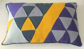 triangle cushion covers marrose u2013 colorful crochet u0026 crafts