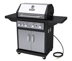 Backyard Grills Walmart Dyna Glo Dga480ssn D 4 Burner Stainless Natural Gas Grill