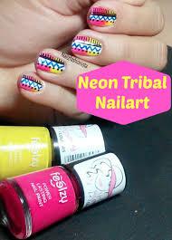 tribal nail art collaboration with flipkart youtube