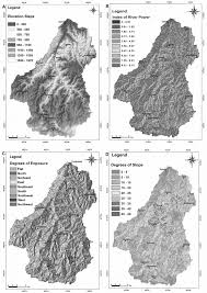 Thematic Maps Thematic Maps Designed Through Digital Elevation Model Dem
