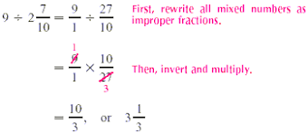 dividing a whole number by a fraction dividing whole numbers by fractions
