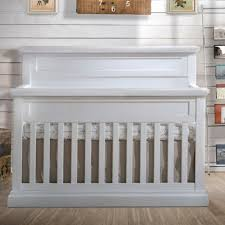 White Convertible Cribs by Natart Cortina Convertible Crib In White Chalet