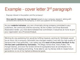 cover letter expressing interest in company 28 images how to
