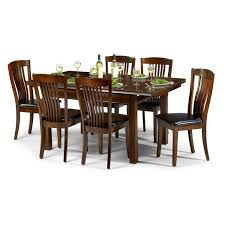 Rolling Dining Room Chairs by Julian Bowen Canterbury Extending Dining Table