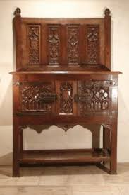 Gothic Cabinet Dresser Antique For Sale Royal Medieval Dressoir Or Dresser Around 1500