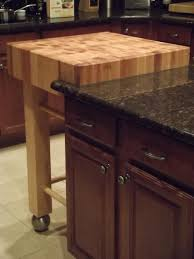 kitchen island chopping block kitchen kitchen island with small square butcher block top table