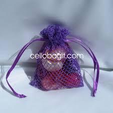 mesh gift bags mesh fishnet favor bags cello bag it