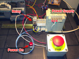 an emergency stop circuit with emc2 mad penguin labs