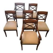 vintage u0026 used regency dining chairs chairish