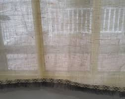 Lace Cafe Curtains Kitchen by Kitchen Curtains White Linen Cafe Curtain Irish Handkerchief