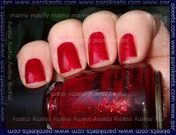 from beauty fair in zagreb china glaze ruby pumps and konad s6