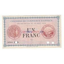 chambre de commerce d annecy acheter billet 50 centimes chambre de commerce annecy 1916 annule neuf