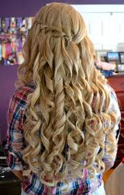 prom curled hairstyles prom hairstyles at home with curly style