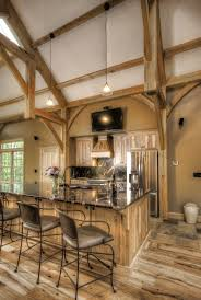 Small Timber Frame Homes 44 Best Timber Home Kitchens Images On Pinterest Timber Frames