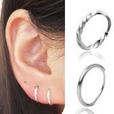 small silver hoop earrings 990 999 silver twist mini small hoop earrings dsmv