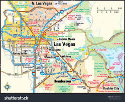 Unlv Map Map Of Vegas Jpg