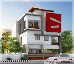 3 storey house plans beautiful modern 3 storey house tamilnadu villa kerala house