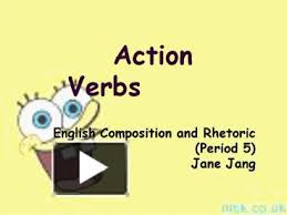 ppt u2013 action verbs powerpoint presentation free to view id