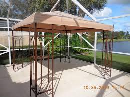 patio gazebo lowes garden treasures gazebo a9p002y garden winds