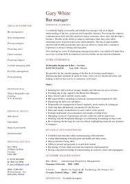 restaurant resume template restaurant resume template tgam cover letter