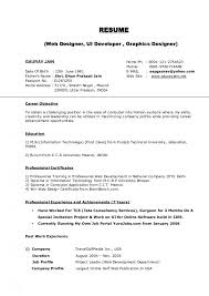 Example Of A Retail Resume by Curriculum Vitae Format Template Administrative Cover Letter