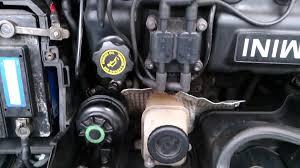 mini cooper power steering fan mini cooper r50 2002 power steering pump issue youtube