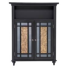 Acrylic Bathroom Storage Door Floor Cabinet For Bathroom Blue Acrylic And