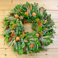fresh fall thanksgiving wreaths made to order by creekside farms
