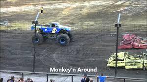 monster truck show lubbock tx monster trucks texas motor speedway 7 16 11 wheelie contest youtube