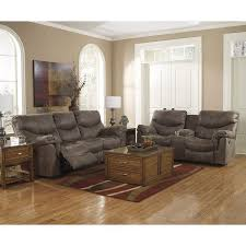 Recliner Living Room Set Alzena Gunsmoke Power Reclining Living Room Set Signature Design