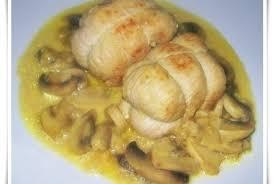 cuisiner des paupiettes de veau au four paupiettes de dinde et leur sauce crémeuse aux chignons