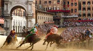 Palio Di Siena Flags Palio Of Siena Jockeys And Horses Borgo Grondaie Hotel And